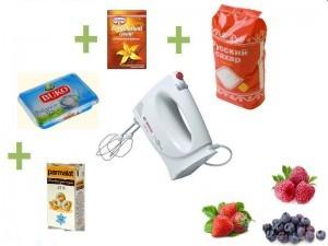 компоненты и схема взбивания творожного крема