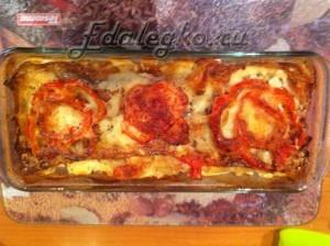 рецепт лазаньи с фаршем - готово