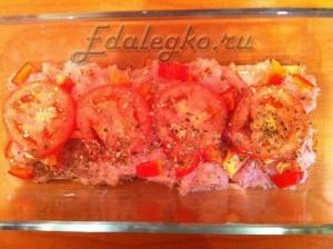 рецепт лазаньи с фаршем - первая стадия