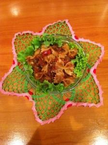 Паста с грибами - и томатами