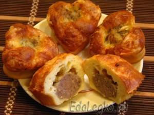 пирожки с мясом - готово