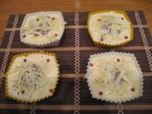 пирожки с мясом - перед выпечкой в духовке