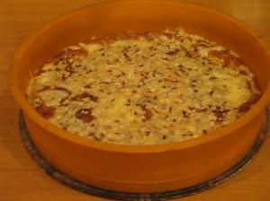 рецепт творожного пирога -  в форме