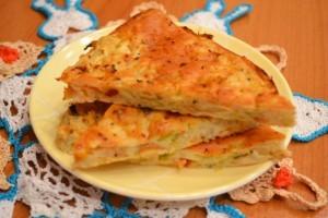 капустный пирог - порция