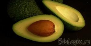 рецепт салата с авокадо - авокадо