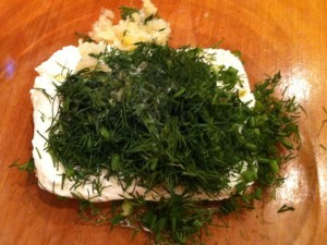 цветная капуста в духовке - добавки для творожной смеси