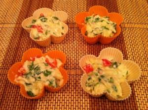 Приготовление вкусного из кабачков - в формочках