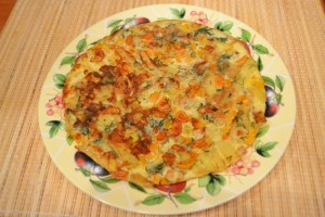 Как сделать испанский омлет - готово!