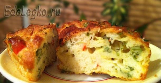 Вкусное из кабачков — маффины!