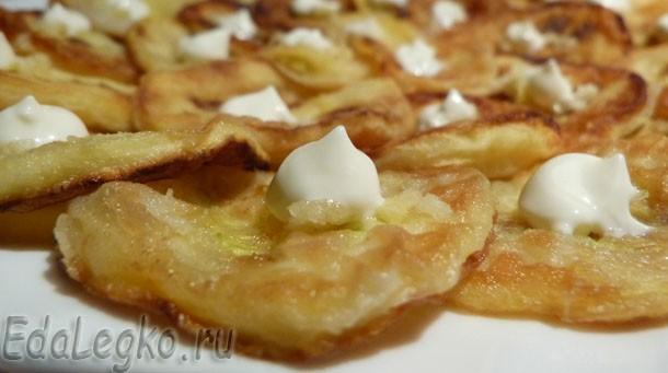 Закуска из кабачков — осенние солнышки