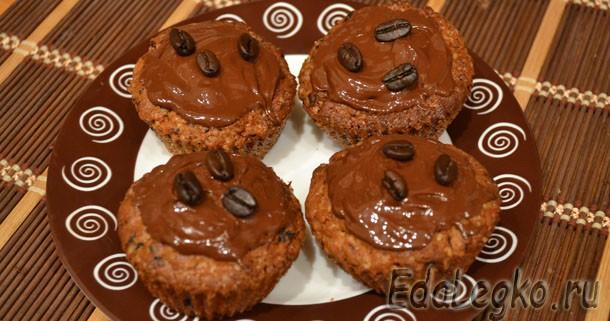 Рецепт маффинов «Кофе и шоколад»
