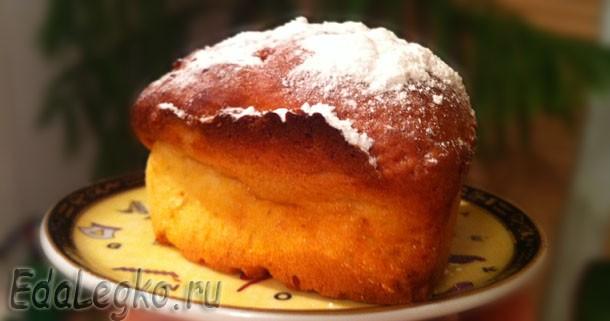 Рецепт кексов с изюмом — на творожной основе