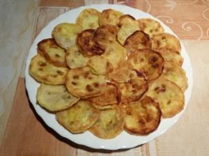 закуска из кабачков - на тарелке