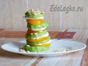 рецепт Салата из авокадо
