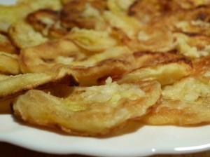 закуска из кабачков - с чесноком