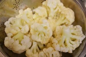 вкусная цветная капуста - соцветия