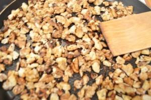 свекольный салат  - орехи