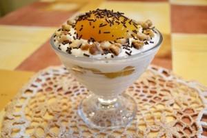 творожный десерт - готово