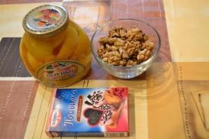 творожный десерт - продукты начинка и украшение