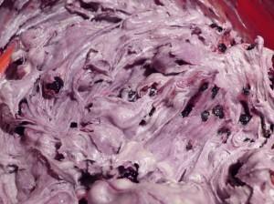 черника - рецепт маффинов тесто с ягодой