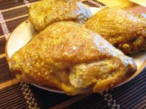 куриные бедрышки - готово