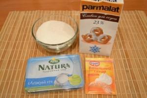 творожный десерт - продукты на крем