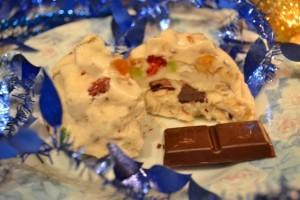 вкусное мороженое - разрез