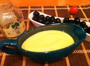 свекольный салат - соус