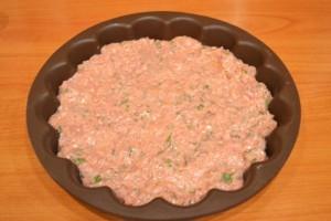 рецепт мясной запеканки - в форме