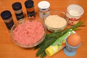 рецепт мясной запеканки - продукты