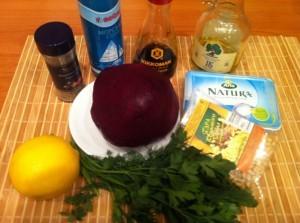 салат вареная свекла продукты