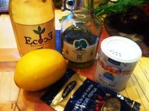 вкусный винегрет - продукты заправка