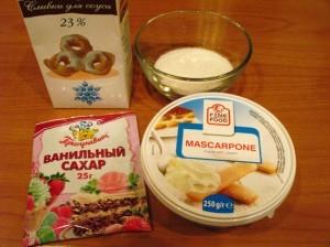 десерты с маскарпоне - продукты