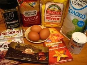 капкейк - продукты