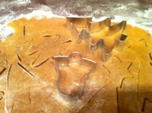рождественское печенье - формочки