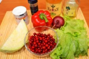 салат из капусты с перцем - продукты