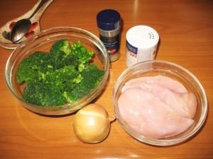 суп-пюре из брокколи - продукты