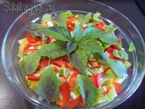 вкусные салаты с ананасом - готово