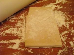 Пирог с капустой и яйцом - тесто