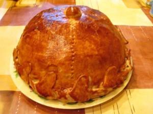 как приготовить курник - готово
