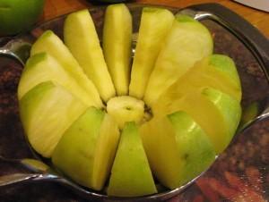 творожная запеканка  яблоками  - яблоки