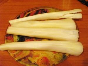 салат с сельдереем и курицей - сельдерей