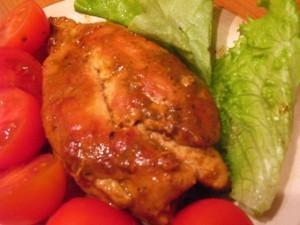 куриная грудка в соусе - готово