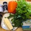 перец фаршированный сыром - продукты