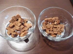 салат с сухариками и сыром - 1й слой