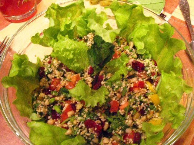 Рецепт с салатов восточной кухни