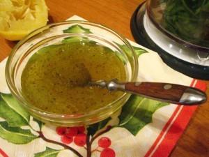 восточный салат - заправка