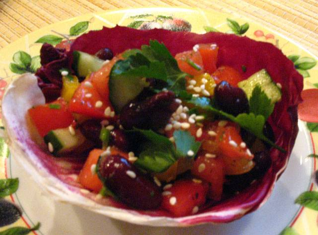 Салат леший рецепт с фото пошагово