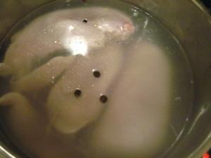 вкусный куриный суп - бульон