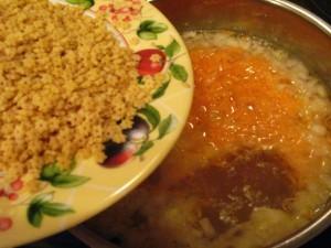 вкусный куриный суп - звездочки